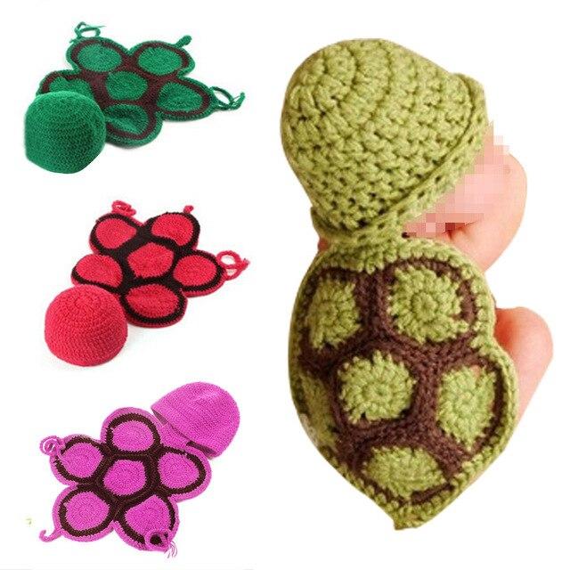 Babys Sets Nette Schildkröte Stil Neugeboren Baumwolle Handgemachte ...