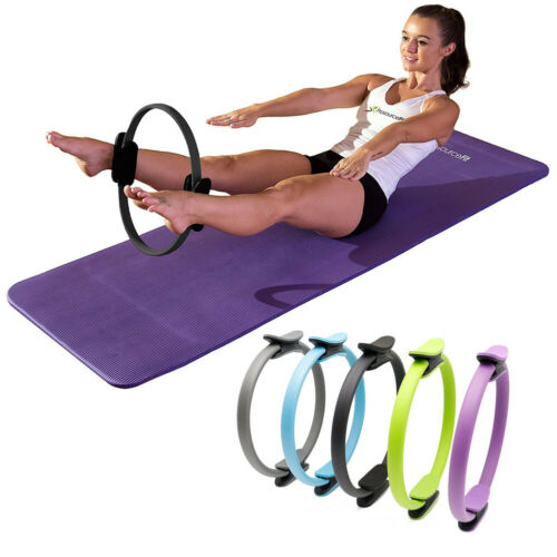 Yoga Ring Gymnastic Aerobic Resistance Pilates Rings Circle Fitness Wheel Circle
