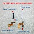 Piezas de repuesto de encendido/apagado botón cable flex para oppo r831 R831T R831S R830 volumen arriba/abajo botón de la llave flex cable rápida gratis