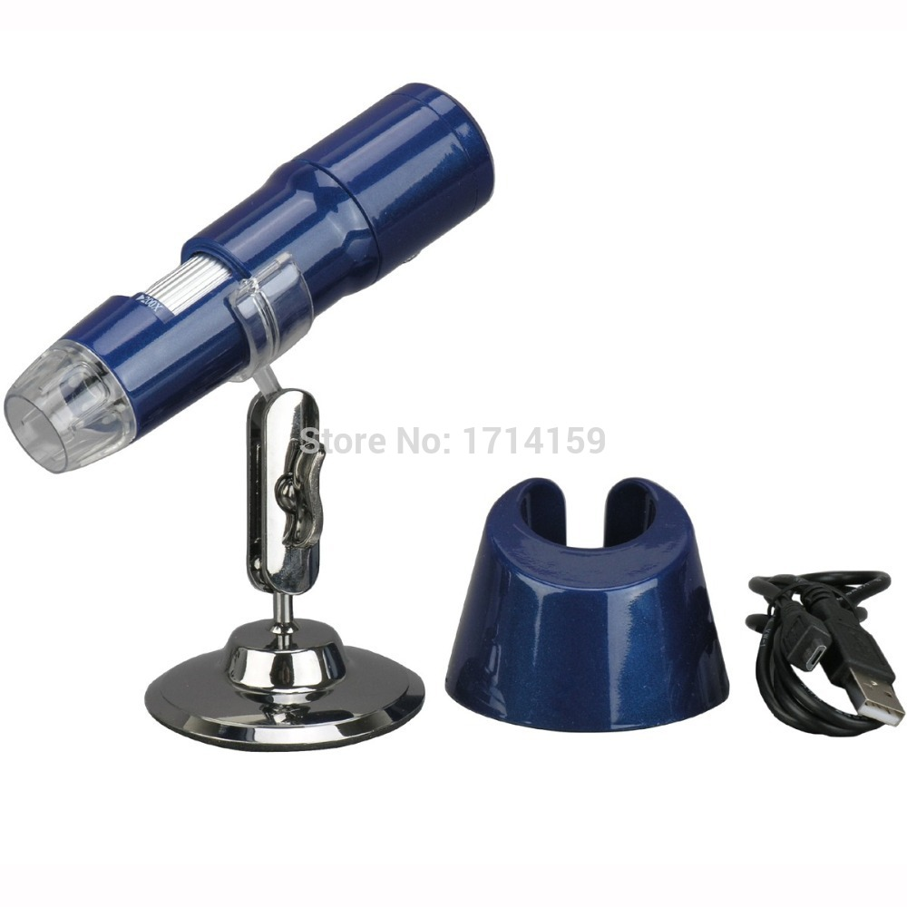 Coin/Stamp-AmScope Supplies <font><b>200X</b></font> 2MP Zoom WIFI Wireless <font><b>USB</b></font> Digital <font><b>Microscope</b></font> Support IOS and Android O/S image