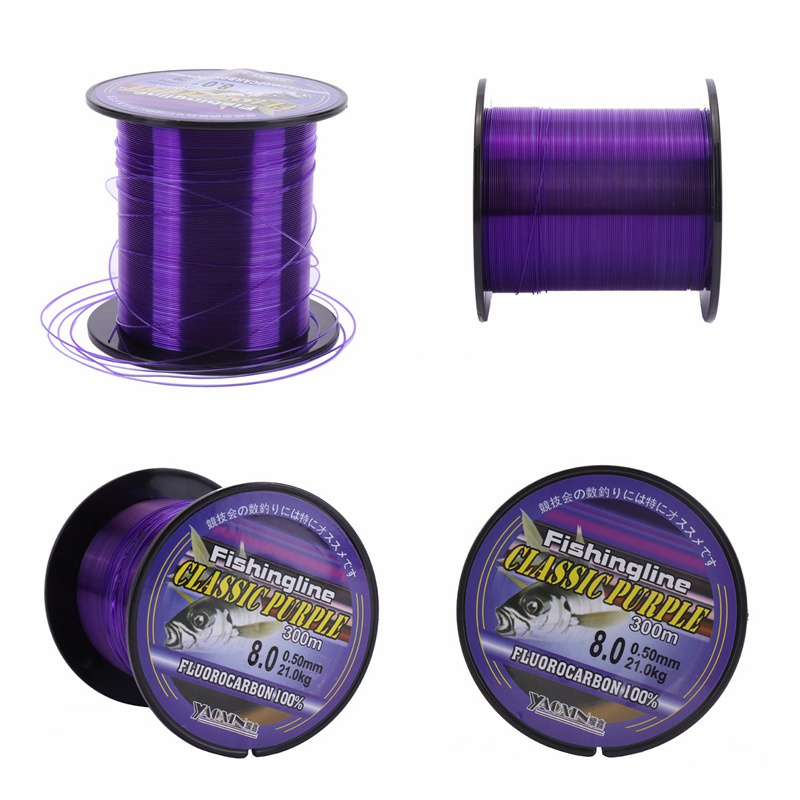 100/150/200/300/500m Fluorocarbon Monofilament Nylon Fishing Line Carp Fishing Main Line With Plastic Box Fishing Accessories-in Fishing Lines from Sports & Entertainment