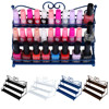 Maquiagem 3 Tier Metal Heart Design Nail Polish Cosmetic Perfume Lipstick Display Wall Rack Stand Organizer