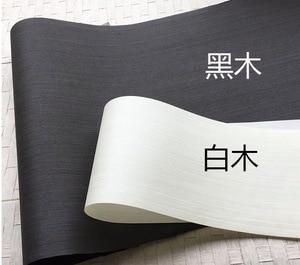 Image 1 - 2 Pezzi/lottp L:2.5 Metri di Larghezza: 55 centimetri di Spessore: 0.25 millimetri Inchiostro Nero Bianco Impiallacciatura di Legno Modello Impiallacciatura Decorativa