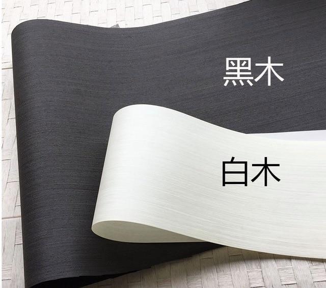 2 adet/grup L:2.5 metre genişlik: 55cm kalınlık: 0.25mm mürekkep siyah beyaz ahşap kaplama Model dekoratif kaplama