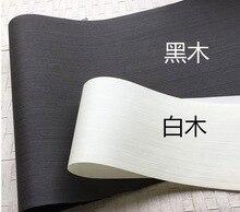 Купить с кэшбэком 2Pieces/Lot L:2.5Meters  Width:60cm Thickness:0.25mm Ink Black White Wood Veneer Model Decorative Veneer