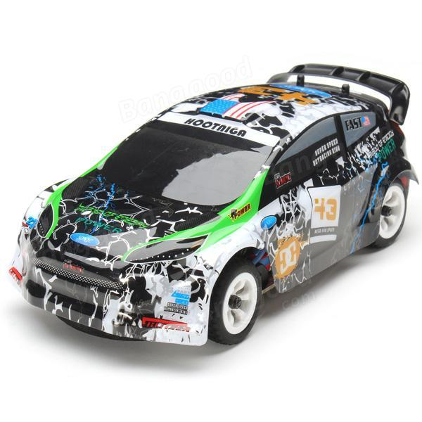 Wltoys K989 1/28 2.4G 4WD Brushed RC Remote Control Rally Car RTR with Transmitter  RC Drift Car Alloy Remote Control Car 6