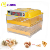 220V Household Commercial Use Eggs Incubator Digital Clear Temperature Control Hatchers Chinese Incubator Machine