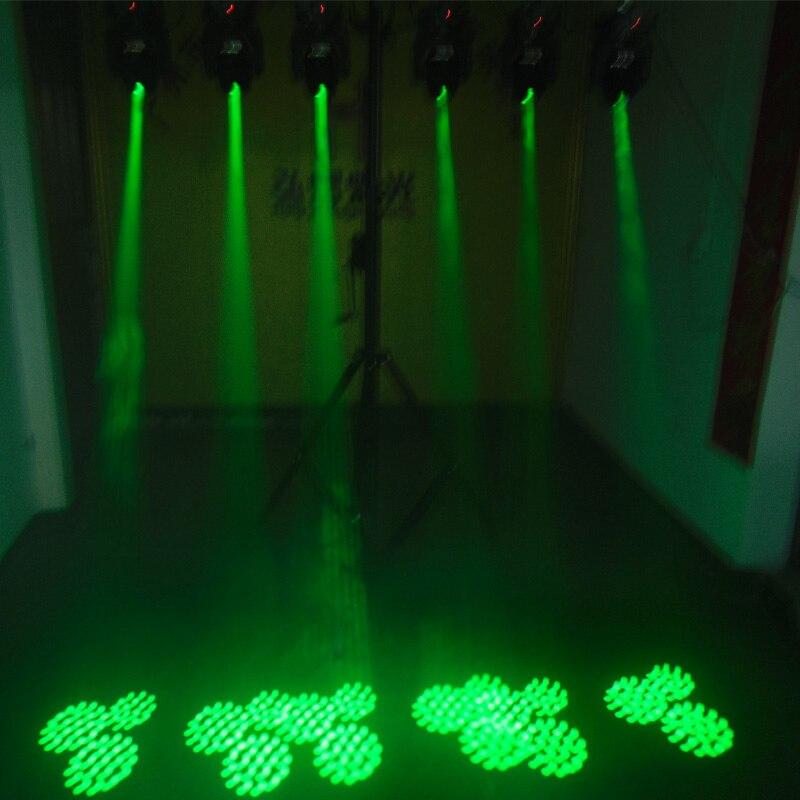 60W Mini LED DMX gobo Moving Head Spot Light Club DJ Stage Lighting Party Disco Moving heads Light