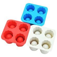 Четыре отверстия чашка для льда Куб лоток формы для изготовления силиконовые формы для мороженое куб формы креативная летняя Питьевая чашка для льда s