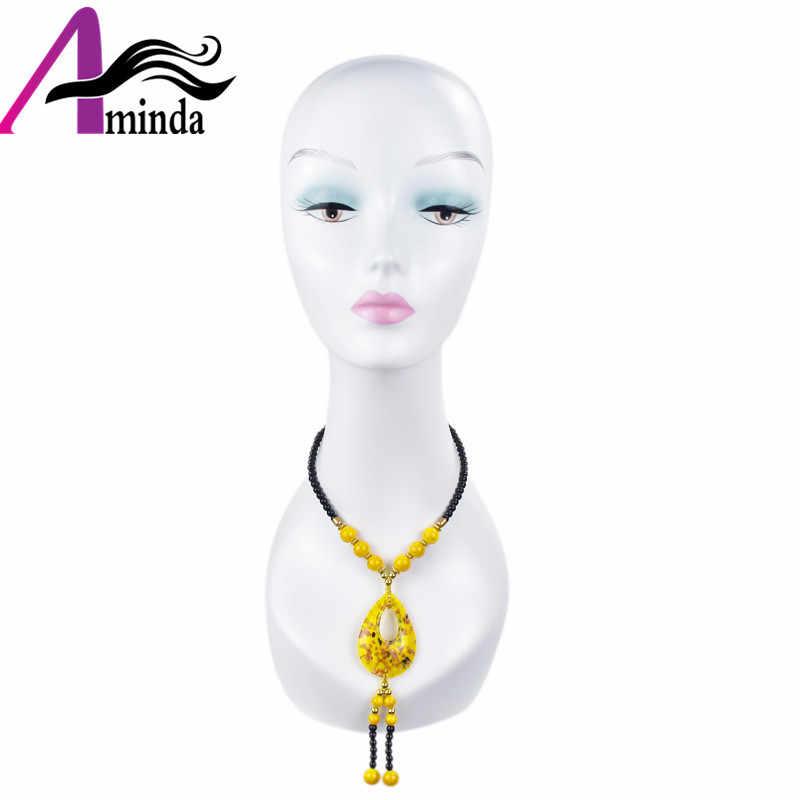Дешевый ABS манекен голова оптовый парик ювелирные изделия шляпа экрана Афро-американский манекен голова стенд без волос распродажа