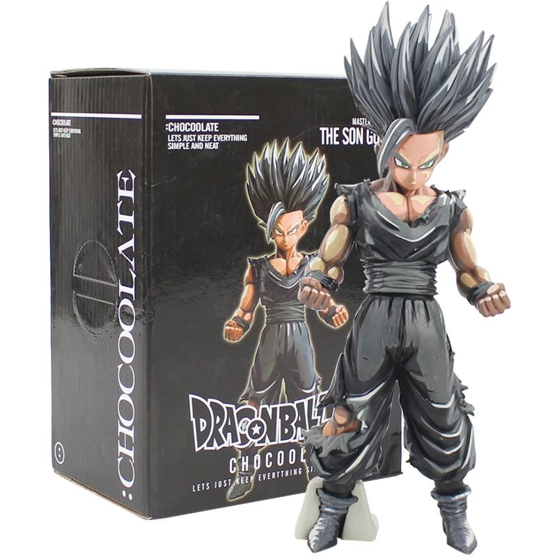 PVC Figure Toy Gift MSP Dragon Ball Z Son Goku Chocolate Ver