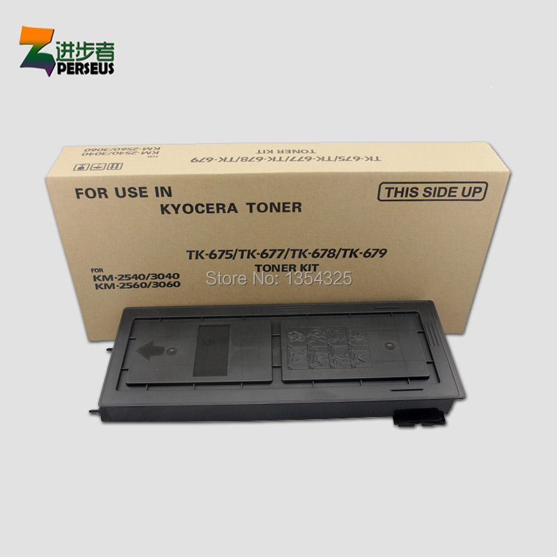 PERSEUS TONER KIT FOR KYOCERA TK-679 TK679 BLACK FULL COMPATIBLE KYOCERA KM-2540 KM-2560 KM-3040 KM-3060 PRINTER GRADE A+ perseus toner cartridge for samsung scx 4200 scx4200 d4200 scx d4200 printer black full compatible grade a