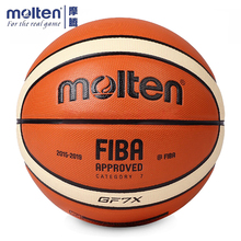 цены Original Molten GF7X Basketball Official Size 7 Men's Basketball Ball For Indoor Outdoor Training Free With Ball Needle+Mesh Net