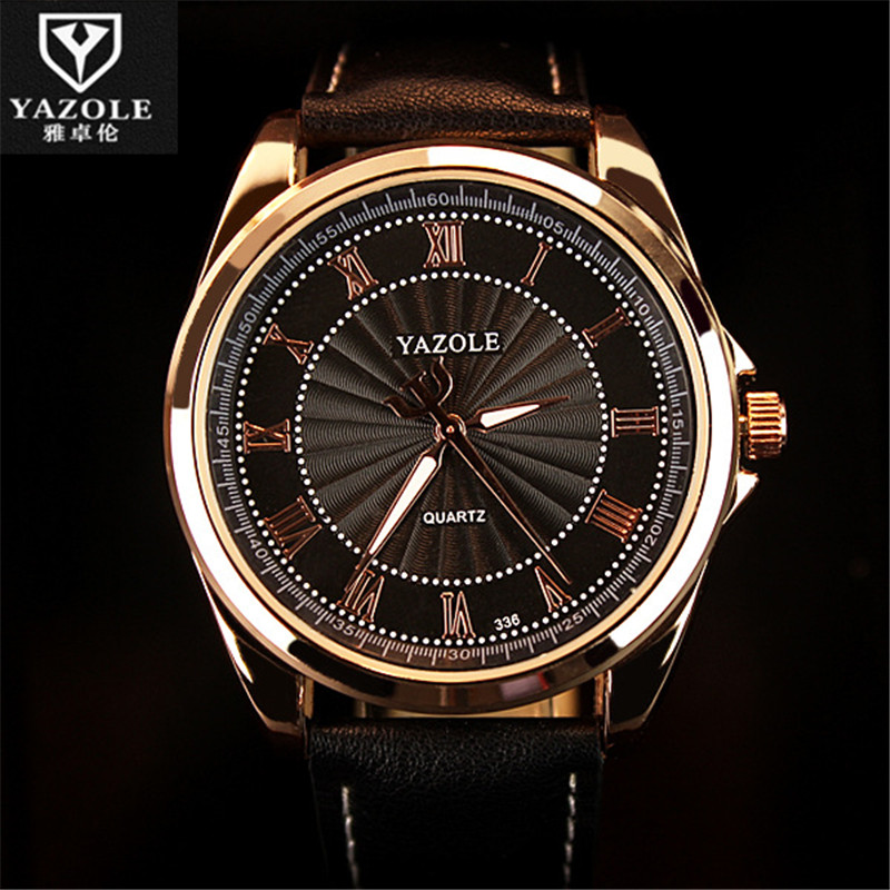 YAZOLE Men Watch Man 2016 Brand Famous Male Clock Wholesale Quartz Watch Wrist  Quartz-Watch Montre Femme Relogio Feminino D03 2016 yazole brand watches men women quartz watch female male wristwatches quartz watch relogio masculino feminino montre femme