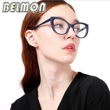 Belmon Optical Eyeglasses Frame Women Prescription Spectacles Trendy Style Accessories Glasses Frames Clear Lens Eyewear RS813