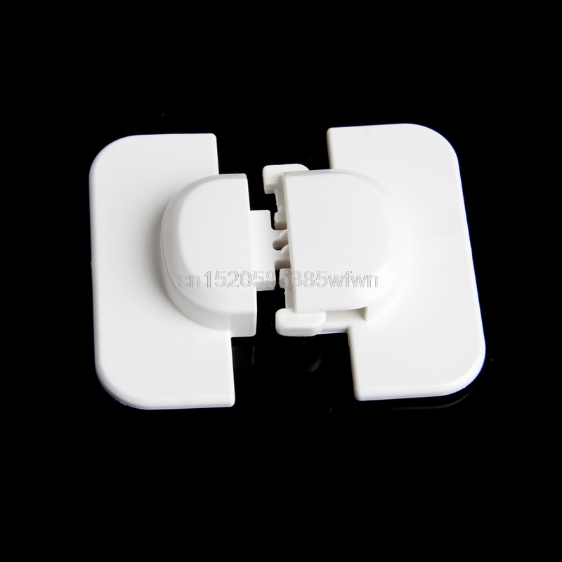 Cabinet Door Drawers Refrigerator Toilet Safety Plastic Lock For Child Kid Baby Safety Lock #HC6U# Drop shipping