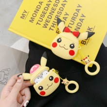 цена Bluetooth Earphone Case for Airpods Silicone Protective Cover Cartoon luxury Accessories for airpods 2 Case 3D Cute Pattern