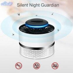 USB fotocatalizador Mosquito asesino lámpara Mosquito repelente de insecto de insectos electrónico luz de Control de plagas UV trampa de luz de la lámpara