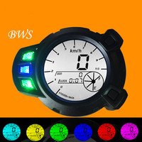 NEW Motorcycle meter refit 7 color LCD electronic meter BWS ZUMA YW125 RSZ 100 moto meter