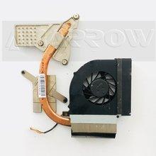 original free shipping For HP Compaq CQ61 G61 CPU Cooling Fan with Heatsink 534684-001