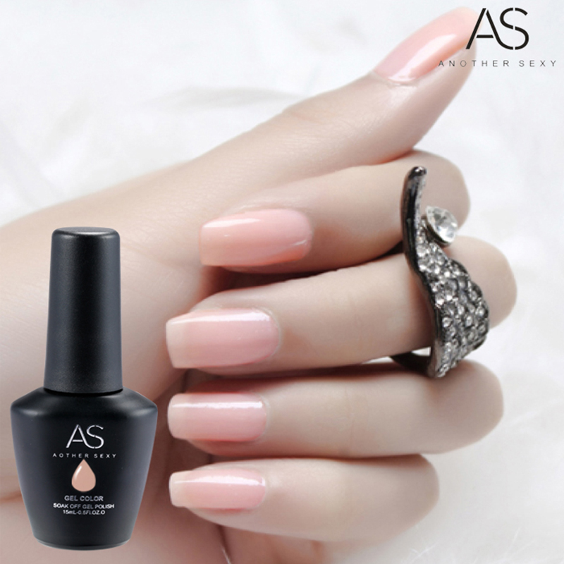 1 Nails UV Gel Glue Nude Series Hybrid Gel Nail Polish High Quality ...