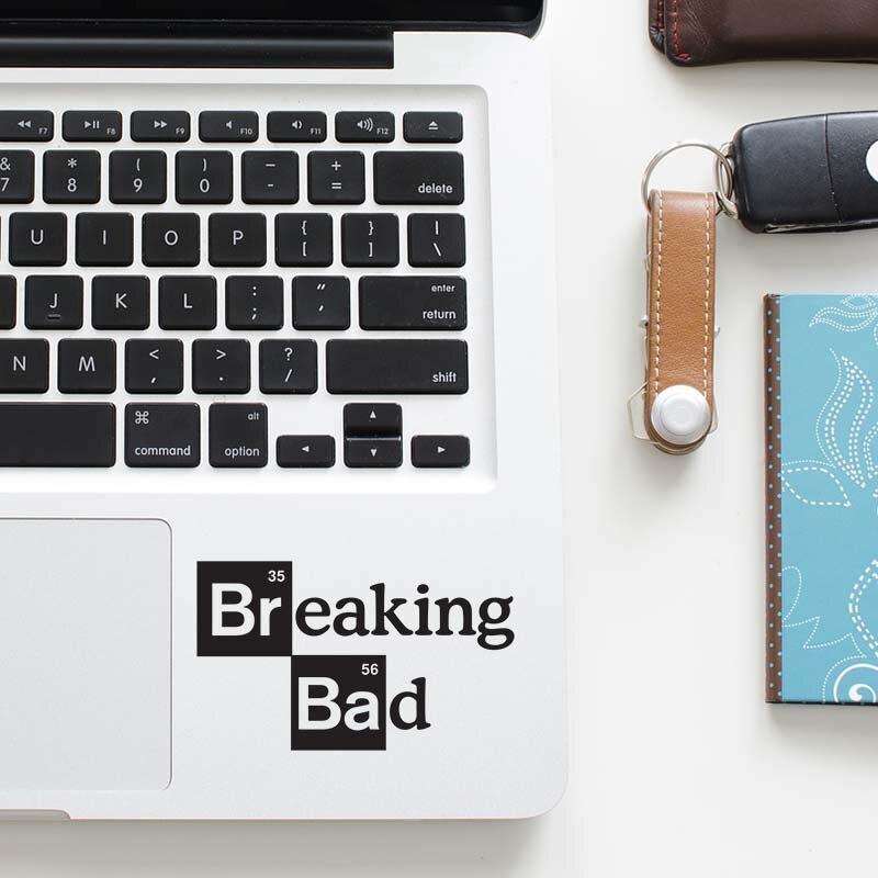 Bad Breaking Logo Laptop Decal Trackpad Sticker for font b Apple b font font b Macbook