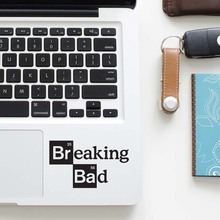 Bad Breaking Logo Laptop Decal Trackpad Sticker for Apple Macbook Pro Air Retina 11 12 13 15 inch Mac Book Touchpad Skin Sticker