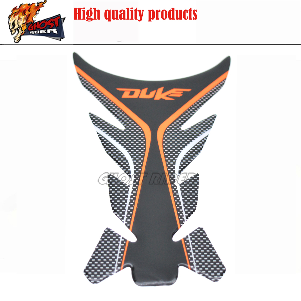 3D Duque Adesivo Moto Tanque Pad Protector Adesivos Moto Decalques Para KTM Duke 125 200 390 690 990 1290 pegatinas Moto