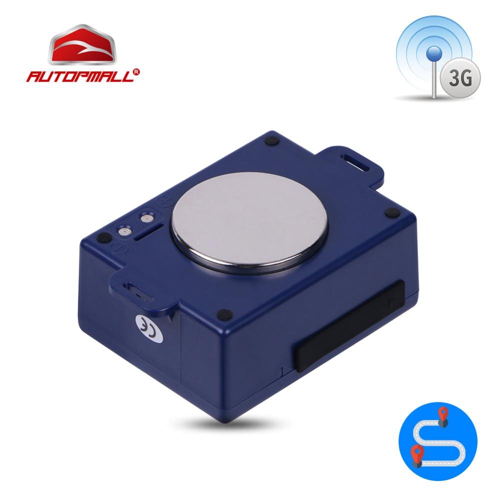 3G Автомобильные GPS-навигаторы Tracker 6000 мАч Батарея сильный магнит WCDMA GSM локатор глобального Применение Водонепроницаемый устройства слежения в режиме реального времени cctr-800g