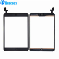 Netcosy Touch Panel For Ipad Mini 1 2 Touch Screen Digitizer Home Button Assembly With IC