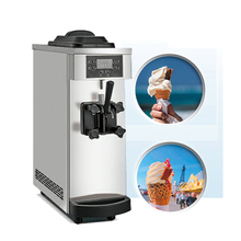 Настольный Топ маленькая модель мини мягкая машина для мороженого оптом