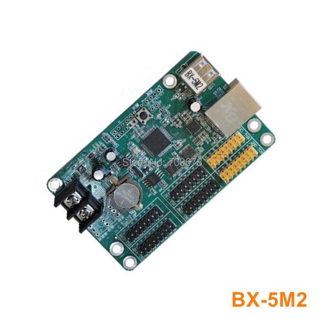 Onbon BX-5М2 (Ethernet + USB) LED Контроллер Для Одного Цвета и Двухцветный СВЕТОДИОДНЫЙ Дисплей Сообщение