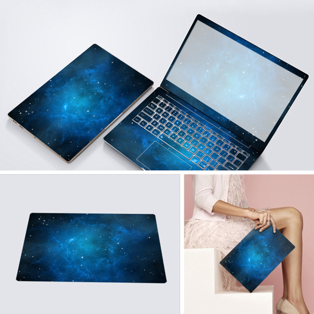 3 Sides Laptop Skin Notebook Stickers For Lenovo Dell Asus Hp 14