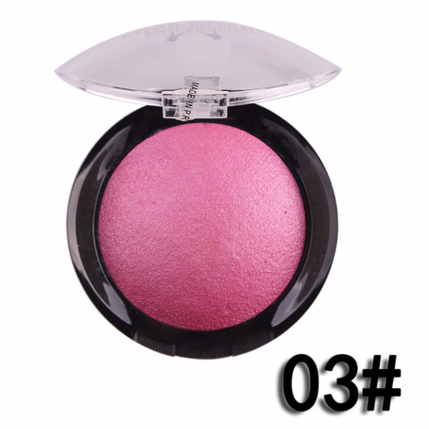 OutTop Professional Cosmetic Contour Face Powder Makeup Blush Blusher Palette#30