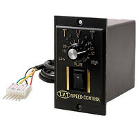 Green LED Indicator Variable Gear Motor Speed Controller AC 220V 25W