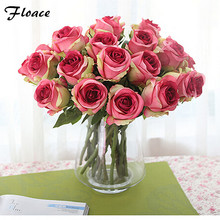 12 PCS Artificial Flowers For Home Decoration Roses