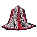 Шарф женщин горячей продажи моды бренд écharpe одежда аксессуары печати скороговоркой хлопок зима scarf185cm * 90 см хиджаб SF17