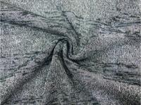 Fio de prata horizontal listrado tecidos de malha, tecido de algodão patchwork para Blusas, roupas casuais, Camisetas tecido tweed B272