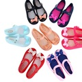 Shoes arco sandálias meninas moda mini melissa verão nova princesa menina mini melissa jelly shoes macio 14.5-17 cm