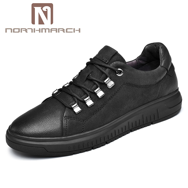 NORTHMARCH Men's Shoes Spring/Autumn Fashion Board Shoes Genuine Leather Casual Shoes Men Krasovki Brand Classic Loafers Men northmarch spring autumn fashion men shoes genuine leather men dress shoes brand luxury men s business casual shoes man