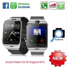NFC Aplus GV18 Smart bluetooth uhr mit Kamera bluetooth armbanduhr sim-karte Smartwatch für iPhone6 Android Telefon PK DZ09 GV08