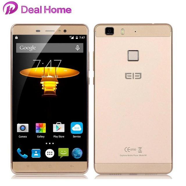 "In stock!Original Elephone M1 MTK6735A 64Bit Quad Core 4G LTE Cell Phone Andriod 5.1 5.5"" 1280*720 2GB RAM 16GB ROM 13MP"