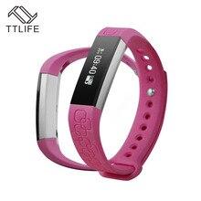 1 шт. TTLIFE бренд Фитнес трекер Умные часы сна Мониторы SmartBand Спорт Digital Smart Браслеты Bluetooth smartwatches