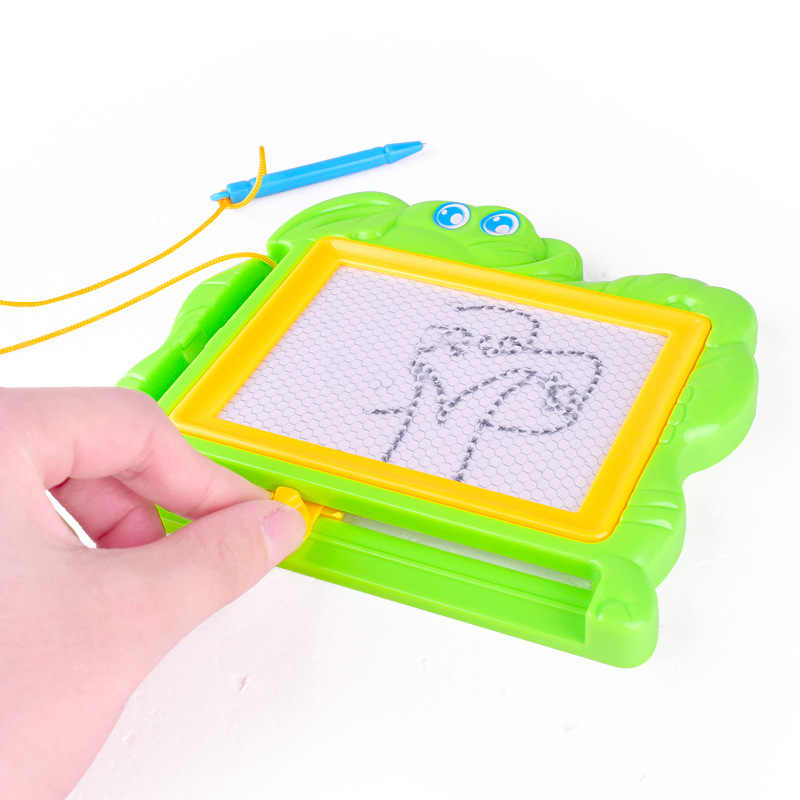 Plastic Magnetic Drawing Board Cartoon Kids Montessori DoodleToys Early Learning Educational Drawing Toy for Children Gift Hot
