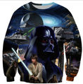 Fashion Mens/Womens Cartoon Star Wars Darth Funny Sweatshirt Hoodies  S M L XL XXL 3XL 4XL 5XL 6XL