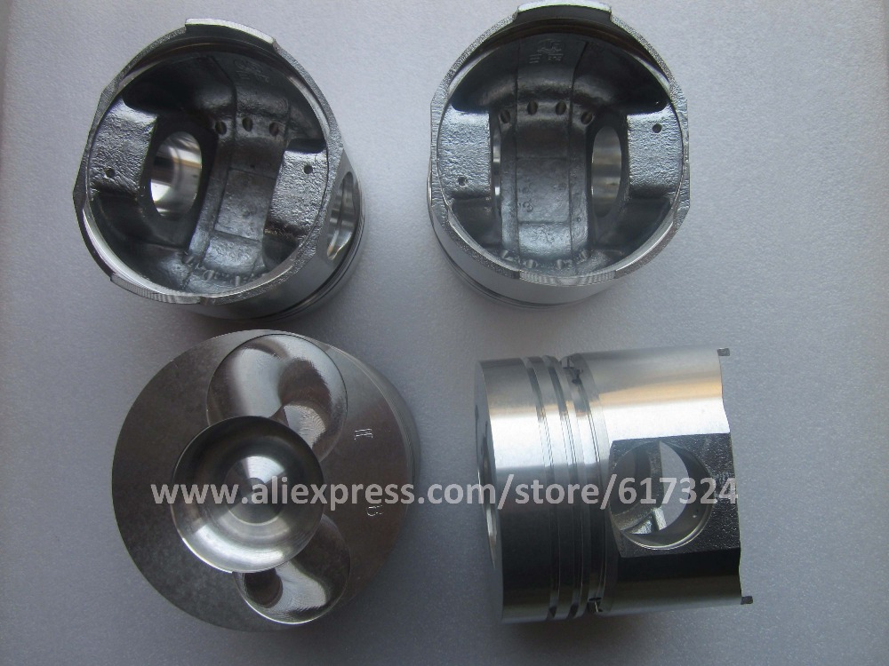 Yangdong Y4100Q engine the set of pistons for generator etc