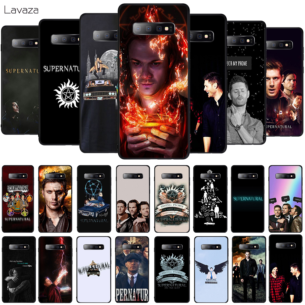 Lavaza Supernatural SPN tv Soft Phone Cover for Samsung Galaxy S8 S9 S10 Plus A6 A8 A9 2018 A30 A50 TPU Case