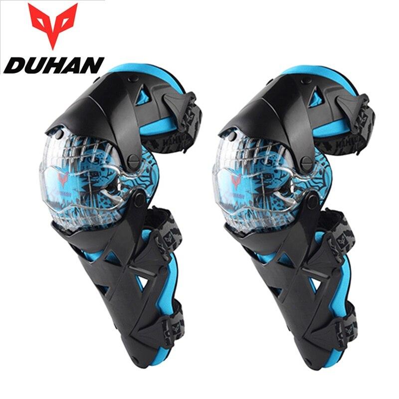 DUHAN DH09 genouillère de protection moto genouillère protecteur sport Scooter motocross CE approbation gardes engrenages de sécurité