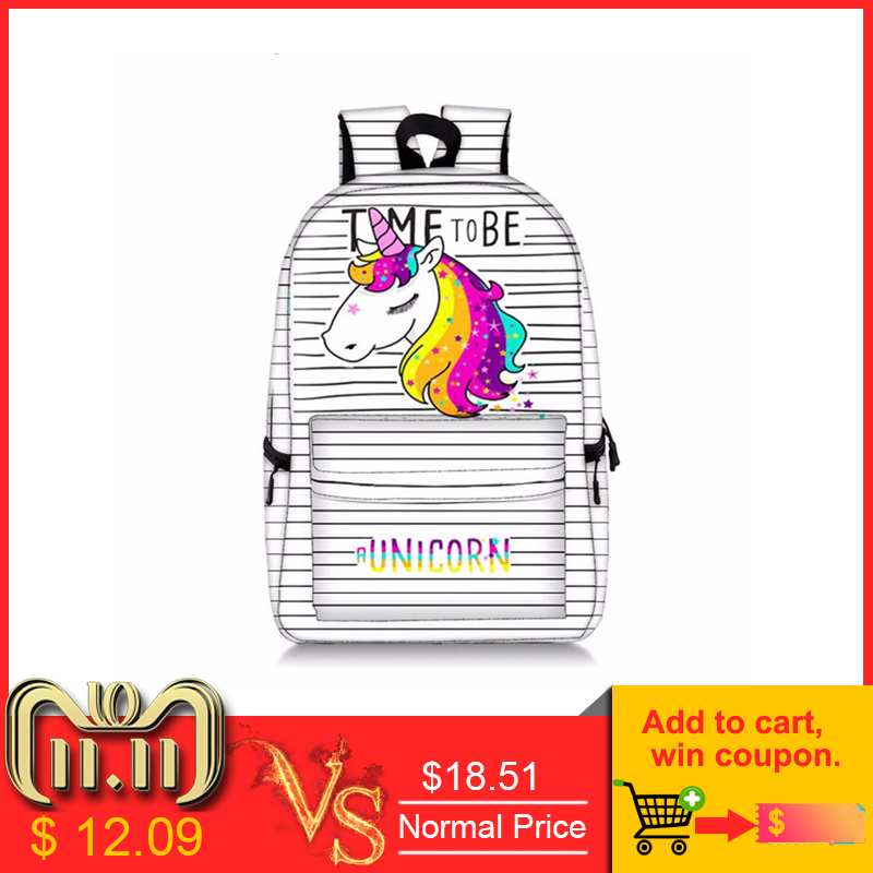 Kawaii Unicorn Panda Printing Backpacks For Adolescent Girls School Laptop Mochila Knapsack Leisure Daily Rucksack Knaspack genuine ignition coil fits oleo mac brushcutter om43 om36 om44 om37 om38 trimmer ignitor lead magneto emak 61250015br