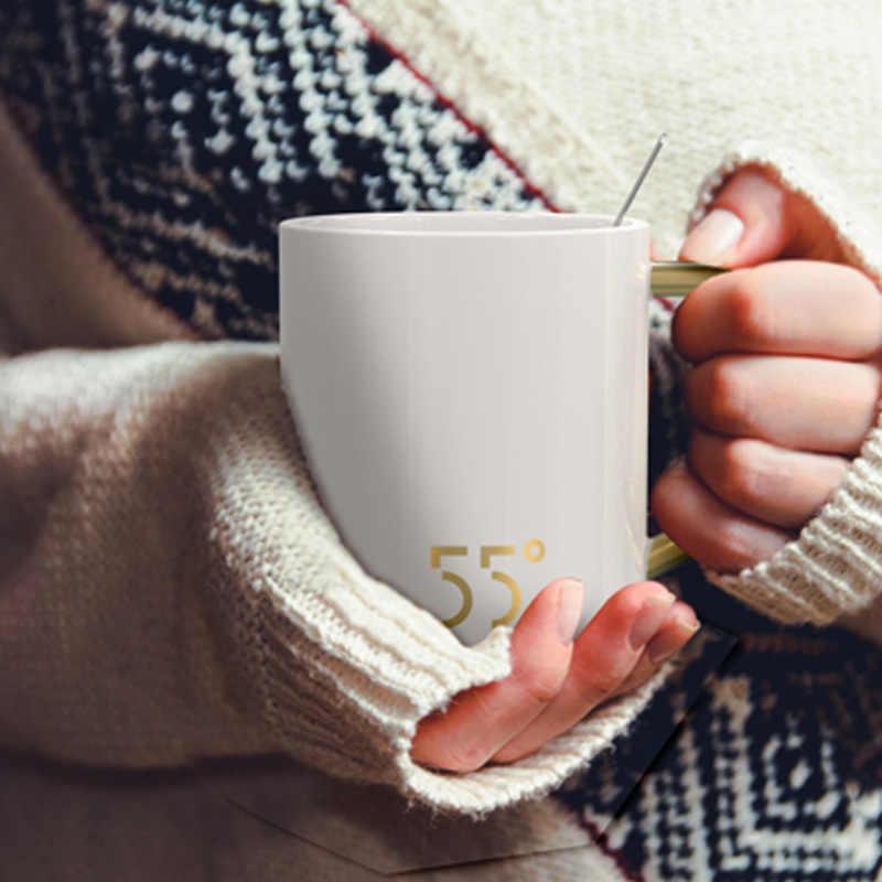 Christmas Ceramic Adjustable Mugs Smart Cup Coffee Cups Control Temperature Mug Warm Cerative Keep lcJFK1T